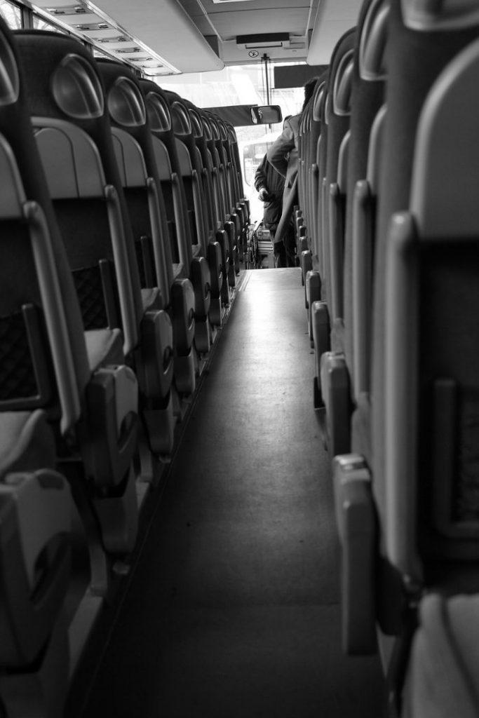 Asientos reclinables de bus ejecutivo